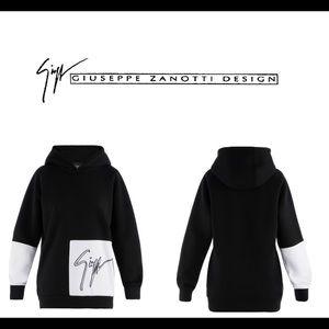 giuseppe zanotti • NEW • women's signature hoodie